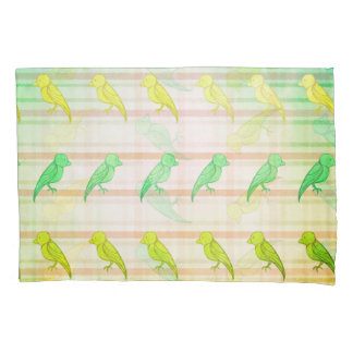 Tropical Birdies Pillowcase
