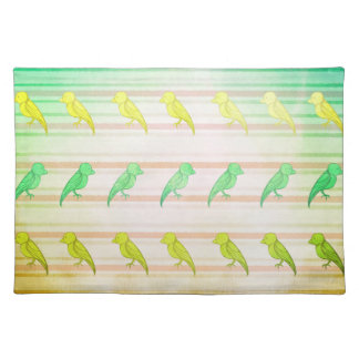 Tropical Birdies Placemat