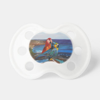 Tropical Birds Overlooking the Bay Pacifier
