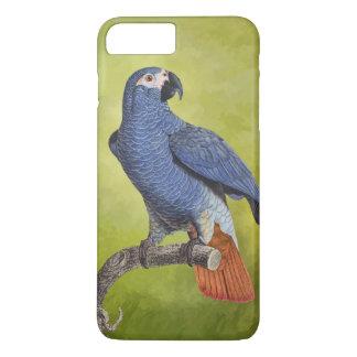 Tropical Birds Vintage Parrot Illustration iPhone 7 Plus Case