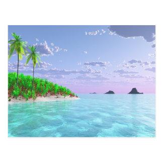 Tropical Bliss Postcard