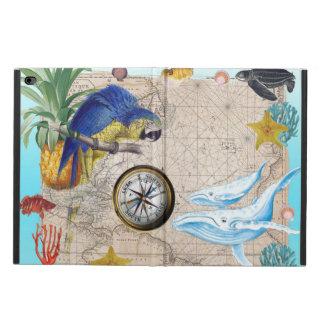 Tropical Blue Collage Powis iPad Air 2 Case