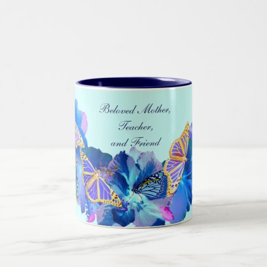 Tropical Blue Mother's Day Mug
