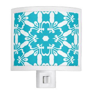 Tropical Blue Pattern Decor Nightlight Night Lights