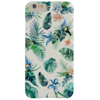 tropical blue tucano palm tree iphone case