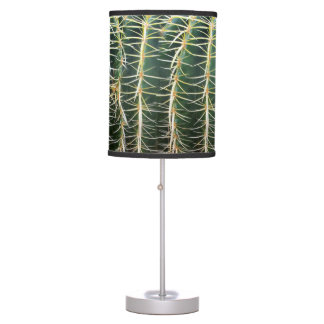 Tropical Botanical Cactus Photo Table Lamp