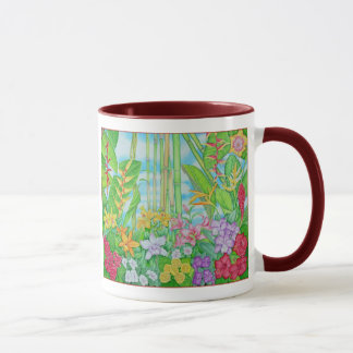 Tropical Botanical Mug