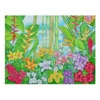 Tropical Botanical Postcards