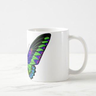 Tropical butterfly coffee mugs