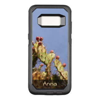 Tropical Cactus Biological Blue Skies any Text OtterBox Commuter Samsung Galaxy S8 Case