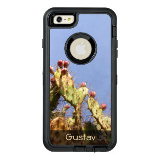 Tropical Cactus Biological Blue Skies any Text OtterBox iPhone 6/6s Plus Case