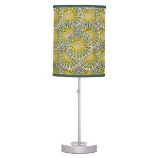 Tropical Cactus Photo Botanical Pattern Table Lamp