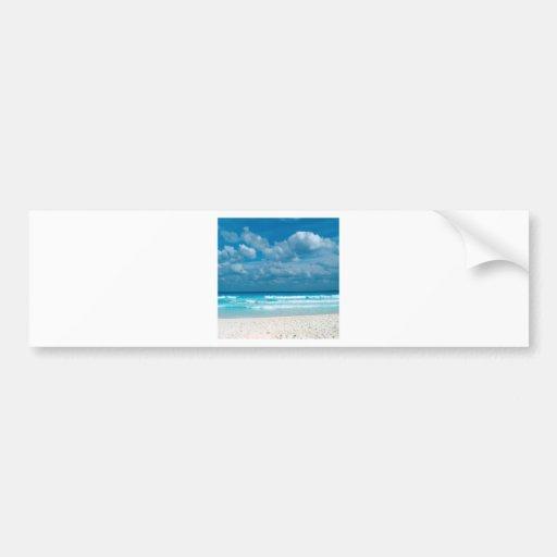 Tropical Caribbean Adventure Bumper Sticker
