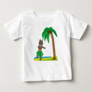 Tropical cat baby T-Shirt