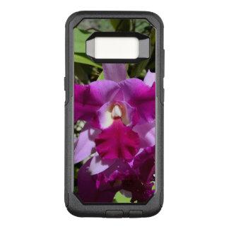 Tropical Cattleya Orchid Flower OtterBox Commuter Samsung Galaxy S8 Case