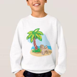 tropical chow chow sweatshirt