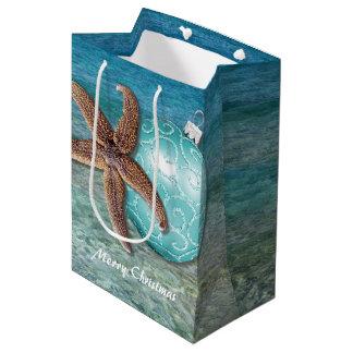 Tropical Christmas Greeting Gift Bag