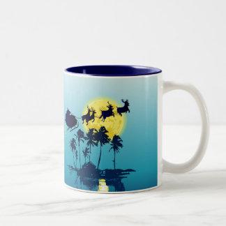Tropical Christmas Mug
