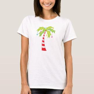 Tropical Christmas Tree T-Shirt