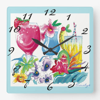 tropical clock