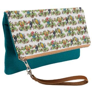 Tropical Clutch Bag (choose colour)