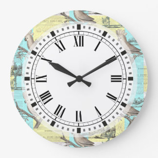 Tropical Cockatoo Dream Large Clock