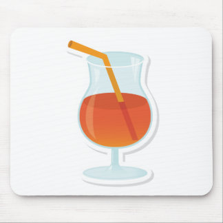 tropical Cocktail Mouse Pad
