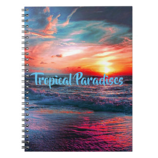 Tropical Colors Notebooks