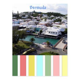 Tropical Colours of Bermuda Postcard
