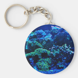 Tropical Coral Reef Keychain