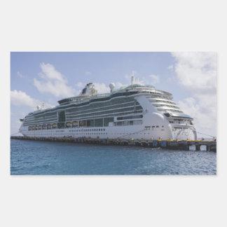 Tropical Cruise Ship Sticker