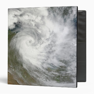 Tropical Cyclone Paul over Australia Vinyl Binder