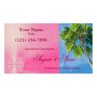 Tropical Design Business Card