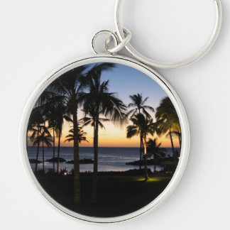 Tropical Destination Keychain