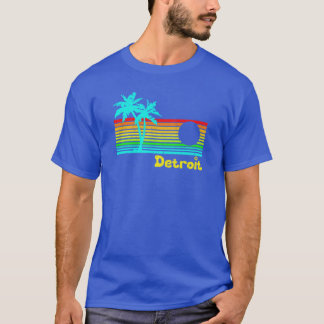Tropical Detroit (funny vintage design) T-Shirt