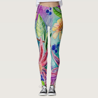 Tropical Dream Fantasy Leggings