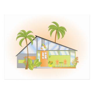 Tropical Dream House Postcard