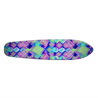 Tropical dream in pink skate board