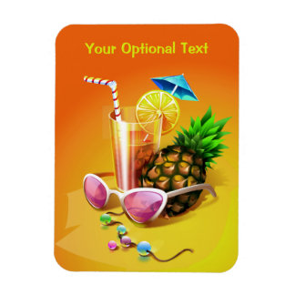 Tropical Drink custom magnet