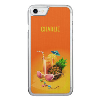 Tropical Drink custom name phone cases