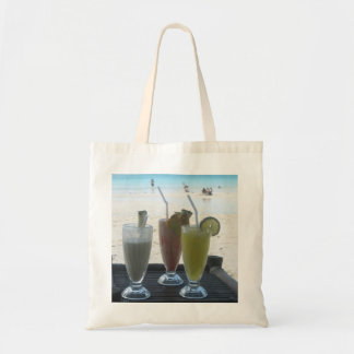 Tropical drinks tote bag