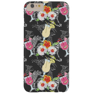 Tropical Drinks With Animals Barely There iPhone 6 Plus Case