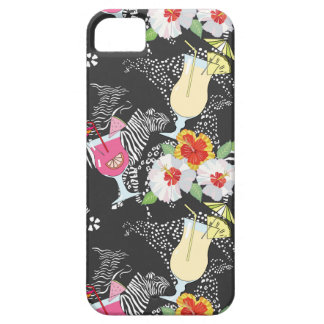 Tropical Drinks With Animals iPhone 5 Cover