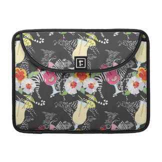 Tropical Drinks With Animals MacBook Pro Sleeve