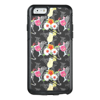 Tropical Drinks With Animals OtterBox iPhone 6/6s Case