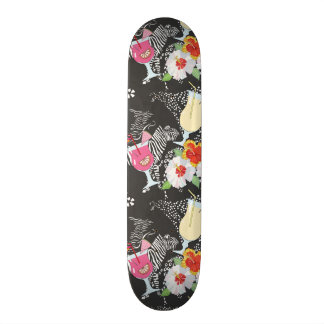 Tropical Drinks With Animals Skate Board Decks