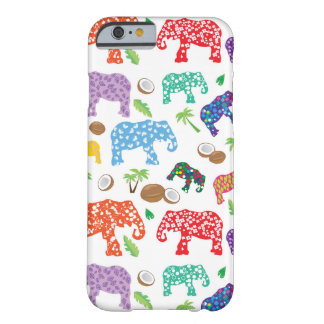 Tropical Elephants Barely There iPhone 6 Case