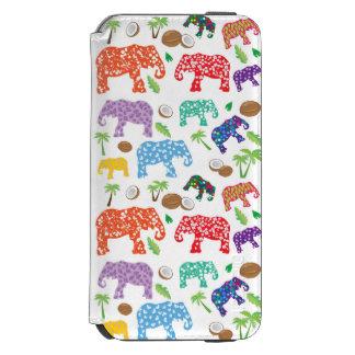 Tropical Elephants Incipio Watson™ iPhone 6 Wallet Case