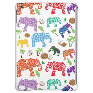 Tropical Elephants iPad Air Covers