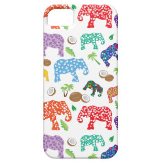 Tropical Elephants iPhone 5 Covers
